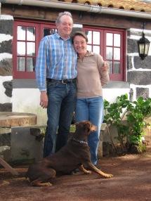 Azores Owners of Quinta da Terca, Christina and Claude de Laval