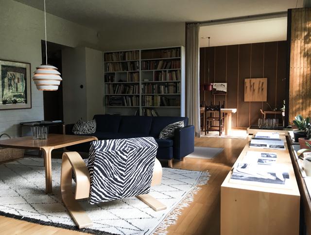 Klassinen sisustus, Alvar Aallon koti