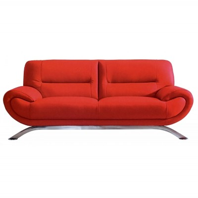 furniture-wonderful-red-leather-two-seat-sofa-design-inspiration-with-chromed-metal-legs-for-modern-living-room-design-12-pictures-of-excellent-red-leather-sofa-designs