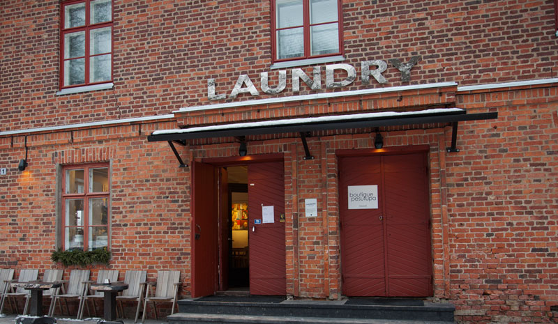 Laundry cafe Fiskarsissa