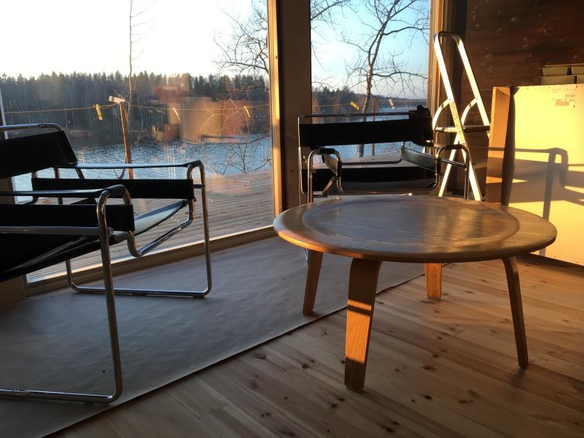Wassily tuoli verhoilumateriaali paksu nahka