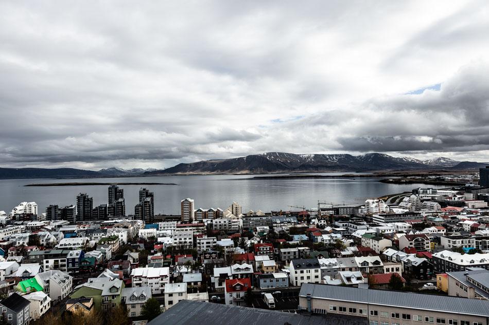 Katri Kuosmanen matkusti Oulusta kielikurssille Reykjavikiin Islantiin.