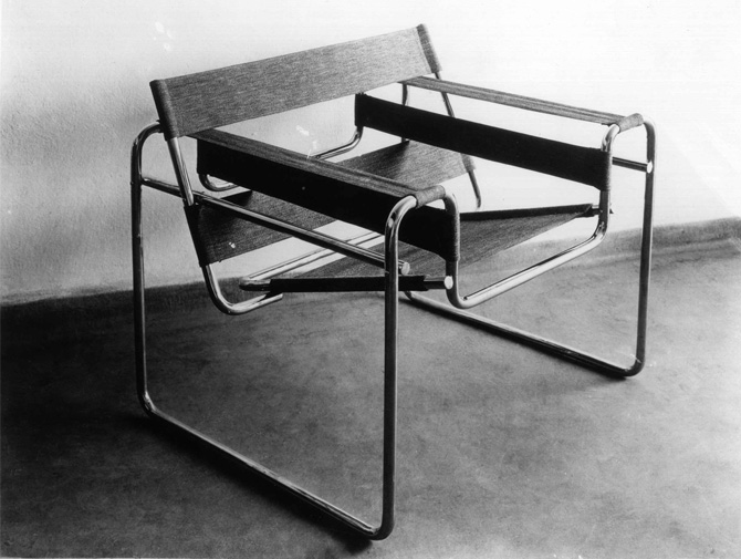 Wassily tuoli sisustussuunnitelma